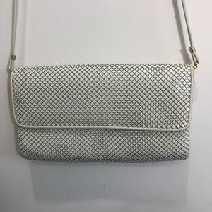 Vintage Whiting & Davis Crossbody Mesh Bag